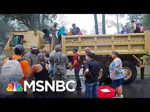 FEMA Administrator Comments On Louisiana Flooding | Andrea Mitchell | MSNBC