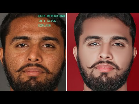 Mixture Brush Tool Setting Explain For High End Skin Retouching In One Click Skin Smooth Formula