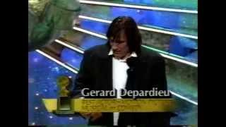 Gerard Depardieu  - 48th Golden Globes