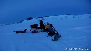Зимова рибалка на Кольському п-ві озеро Лямт 2016