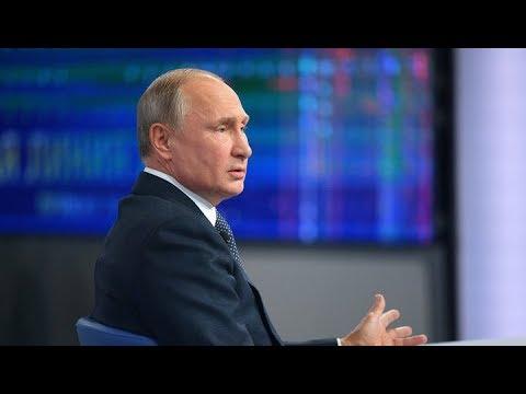 Общение президента РФ Владимира Путина со студентами и аспирантами УрФУ. Полное видео