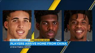 3 UCLA basketball players, accused of shoplifting, back home from China | ABC7
