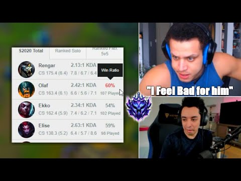 The Beef Between Tyler1 And Nightblue3 After He Got Demoted To D1 | Trick2g | TFBlade | LoL Moments
