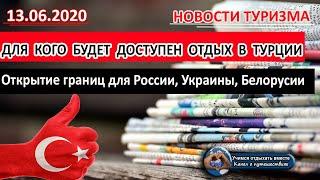 ТУРЦИЯ 2020 Отдых в Турции и открытие границ для России Украины Белоруссии