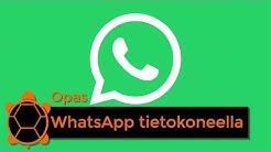 Kuinka käyttää WhatsAppia tietokoneella