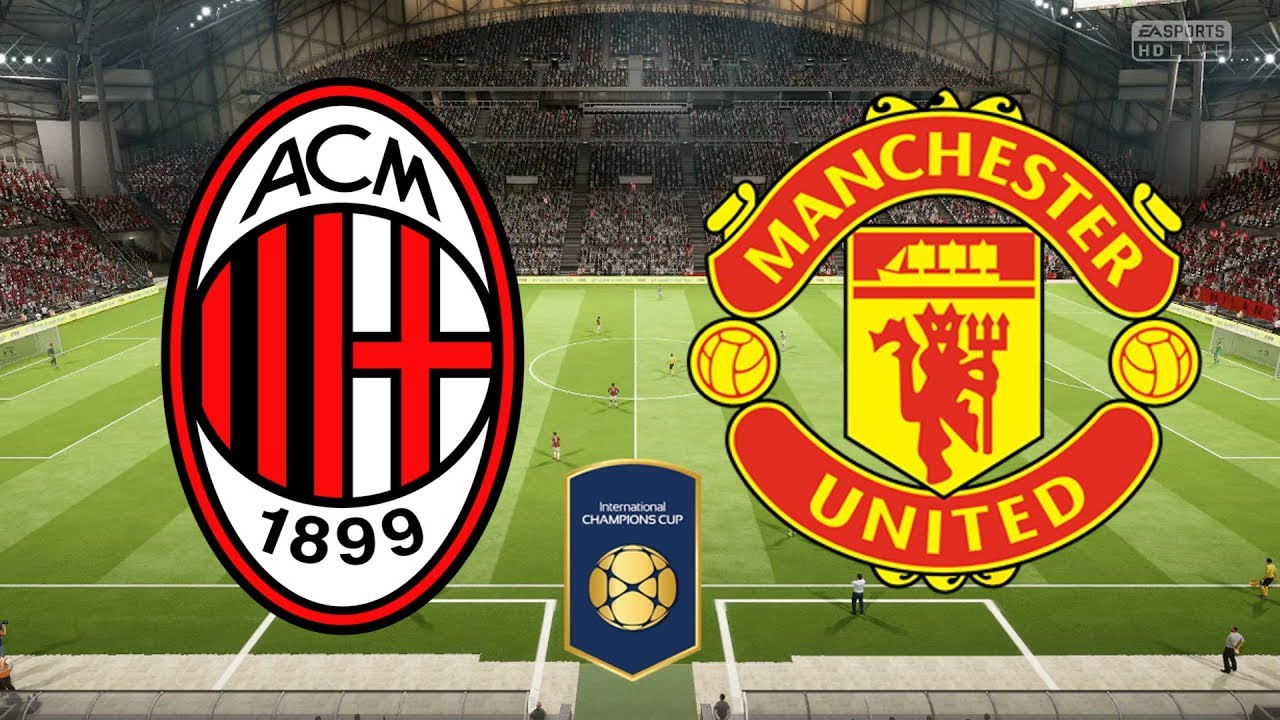 Milan v Manchester United International_Champions_Cup