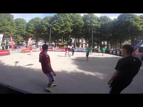European street soccer 4vs4 Championship 2014 Denmark VS Italia