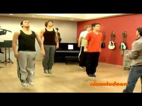 Big Time Rush, Dance Studio, Los Angeles