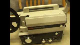 Eumig Mark S 807 D - Super 8 Film Projector with Sound Capabilities