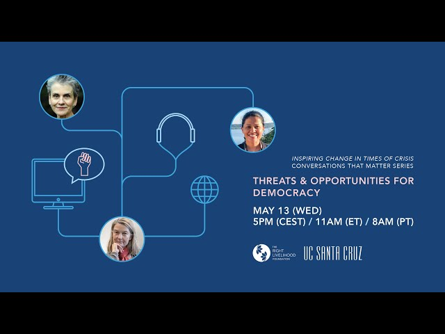 Conversations that Matter: Threats and Opportunities For Democracy