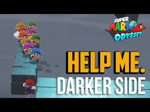 Super Mario Odyssey : How to Beat Darker Side Of Moon Final Kingdom (Long Journey's End Moon)