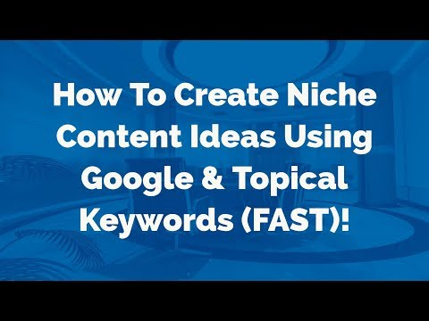 Easy Ways To Get (&Post) Niche Post Content Ideas Fast