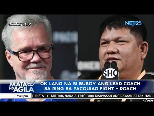 Pacquiao, uuwing 'beltless' sa PHL - Broner Camp