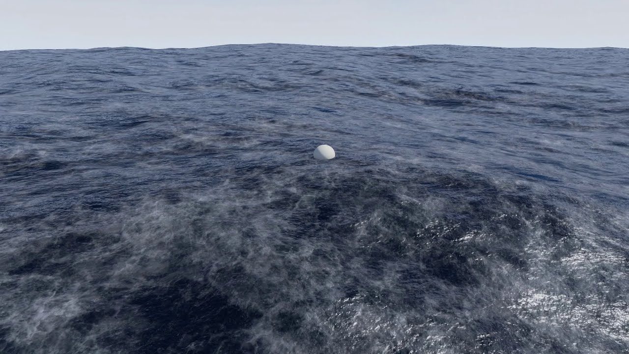 Physical Ocean Surface Developing a Realistic Water Shader
