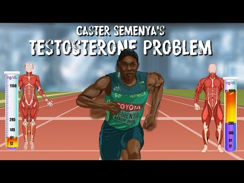 Does elevated testosterone give 2-time 800m Olympic winner Caster Semenya an unfair advantage?