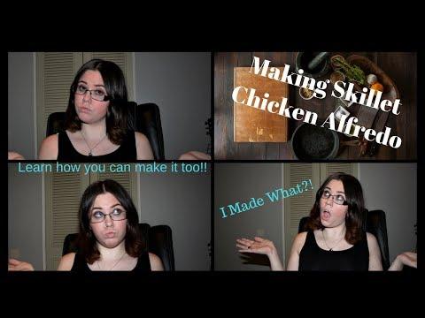 Skillet Chicken Alfredo