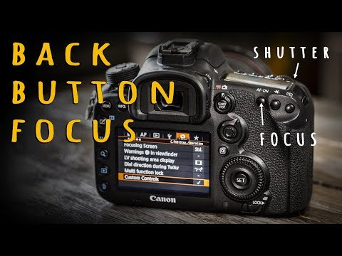 Back Button Focus  - Why and How (With Canon Setup, AF-On)