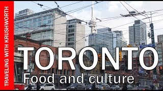 Toronto travel guide (food tour); what to eat in Toronto Canada | tourism video