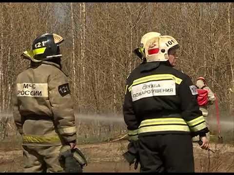 В Иванове прошли масштабные учения пожарных
