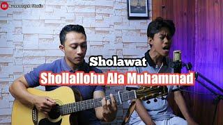 Shollallohu Ala Muhammad ( Sholawat ) - Bilal & Ikramansyah Studio Cover