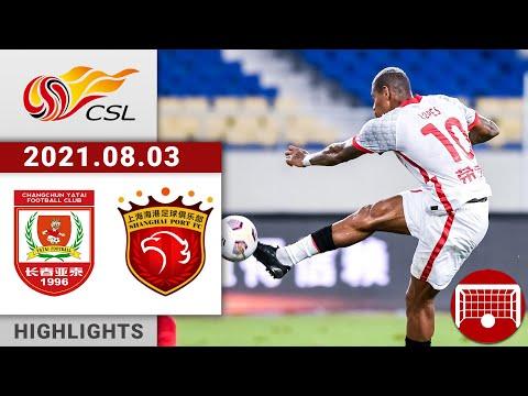 Changchun Yatai Shanghai SIPG Goals And Highlights