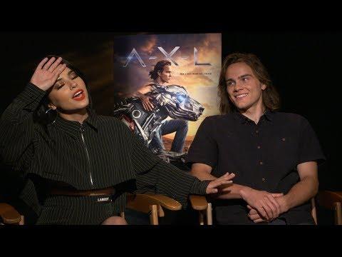 Becky G & Alex Neustaedter Talk A.X.L. Movie in Exclusive Interview