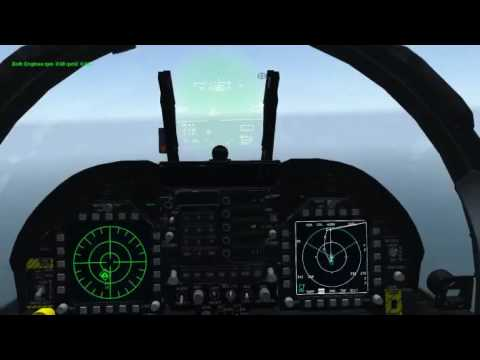 Falcon BMS 4.33.1 AGM-84A Test + Carrier OPS