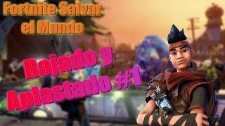Fortnite Save the World - Cracked and Crushed #1