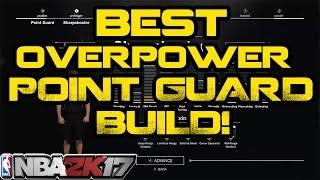 Nba 2k17: best point guard god build!