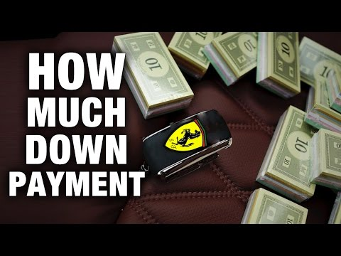 How Much Down Payment You Need When Buying A Car