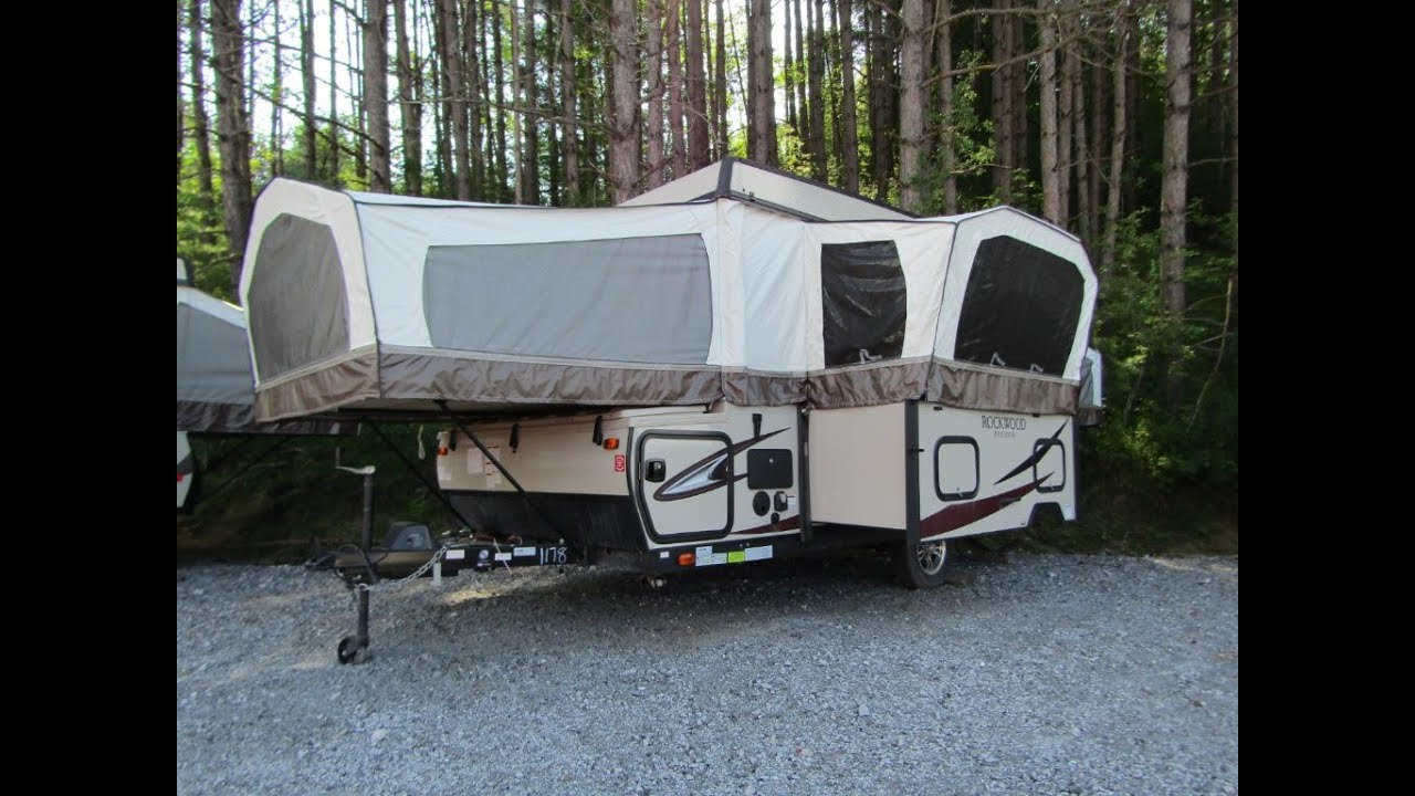 Pop Up Camper Gasgrill : The new rockwood g pop up by forest river youtube