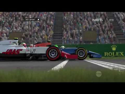 Rio Haryanto, Pebalap Indonesia Pertama di Video Games F1 2016