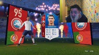 FIFA 18 WORLD CUP РОНАЛДУ В ПАКЕ || RONALDO IN A PACK || FIFA 18 WORLD CUP