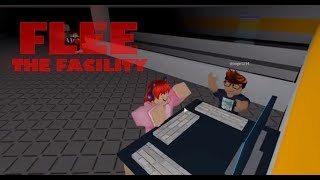 Roblox Flee the Facility | SMASH THE KEYBOARD!