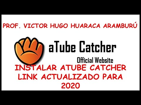 INSTALAR ATUBE CATCHER 2019