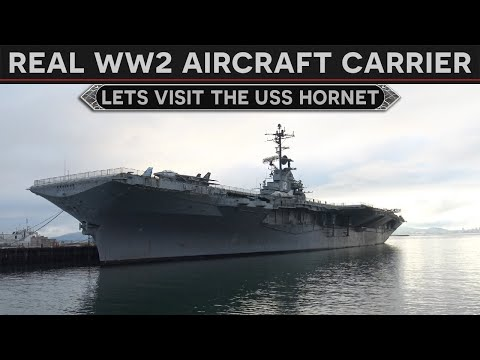 What's It Like Aboard A WW2 Aircraft Carrier? - Let's Visit The USS Hornet