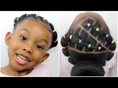 Easy 20 minute Hairstyle | Hair Tutorial for Little Girls