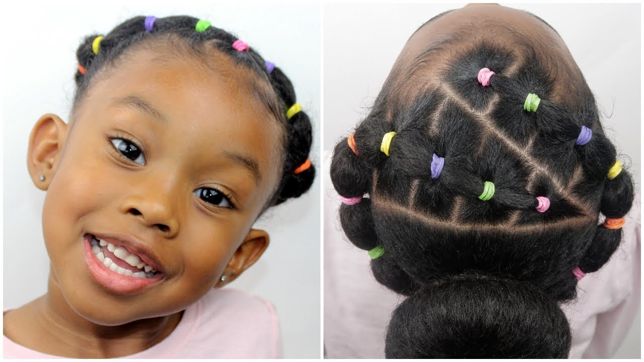 easy 20 minute rubber band hairstyle