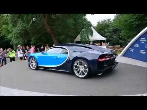 Bugatti Chiron and Veyron