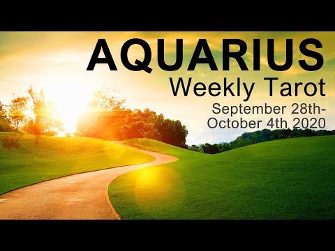 AQUARIUS WEEKLY TAROT