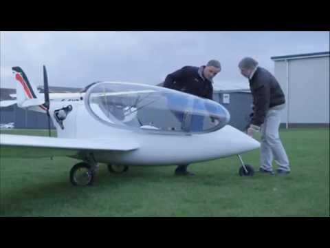 Новости науки и техники, Современная наука: Гибридный двигатель испытан на гибридном самолете