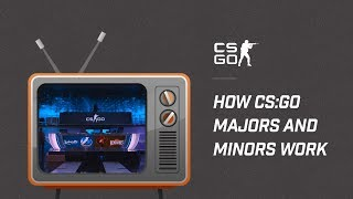 How CS:GO Majors and Minors Work
