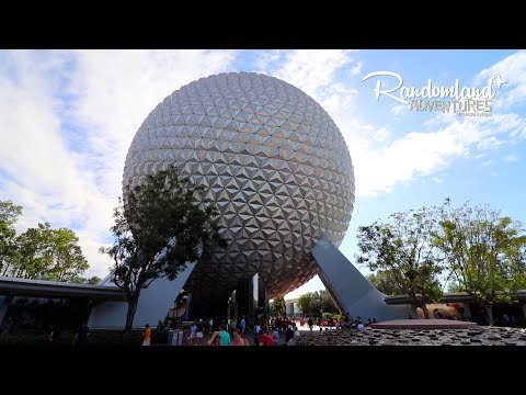 Walt Disney World! EPCOT, Monorail, and Mickey's Christmas Party