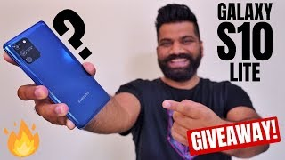 Samsung Galaxy S10 Lite First Look + Impressions | Feature Packed Performer | Giveaway🔥🔥🔥