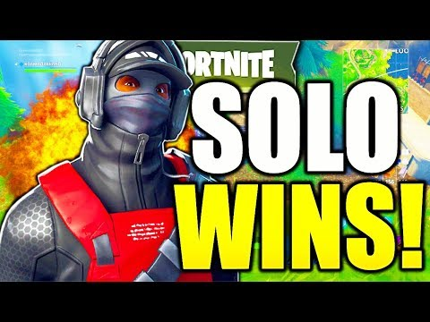 HOW TO WIN SOLO FORTNITE TIPS! HOW TO GET BETTER AT FORTNITE HOW TO GET MORE SOLO WINS SEASON 8!