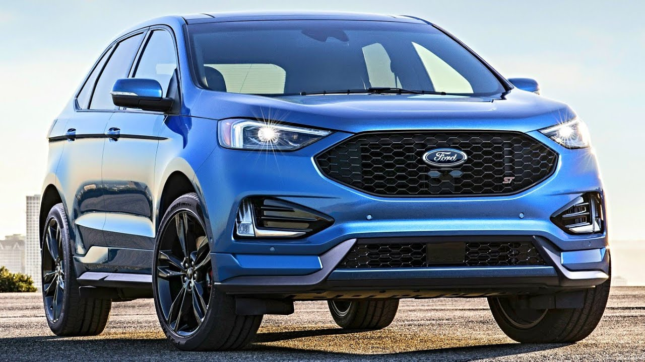 2019 ford edge st interior exterior and drive all new ford edge 2019