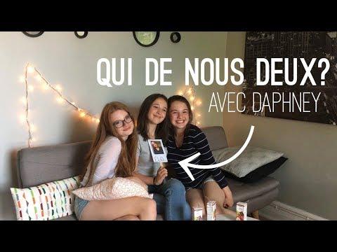 QUI DE NOUS DEUX? Avec Daphney  Cam&Élo