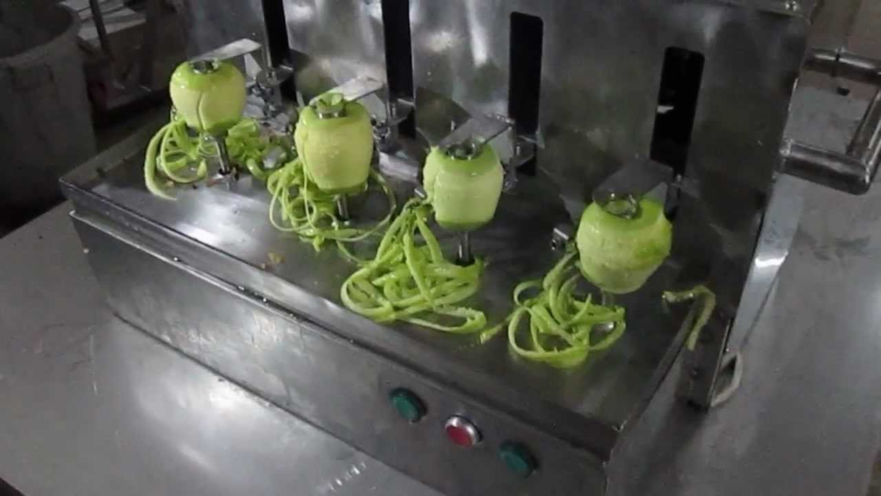 Patates soyma ve dilimleme teknikleri