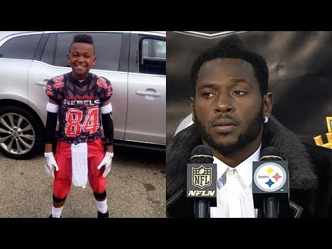"Antonio Brown Says 9-Year Old Son Needs to ""Stay the F**k from Around Me"""