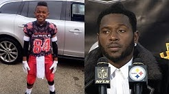 """Antonio Brown Says 9-Year Old Son Needs to """"Stay the F**k from Around Me"""""""